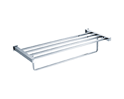 Bathtowel Rack With Towel Bar