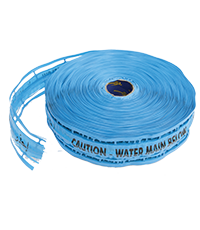 Plastic Warning Tape with Stainless steel wire
