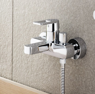 Quadra single lever bath shower mixer