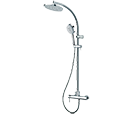 Fiji Column Single hand shower