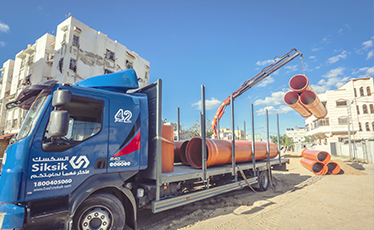 Rehabilitation of sewer network in Khanyounis),