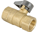 Brass Gas Ball Valve - Female