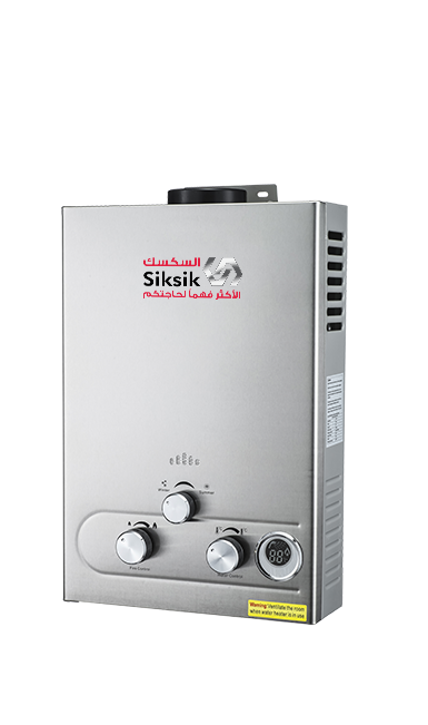GAS WATER HEATER 6 L