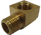Male Brass Tabular Elbow